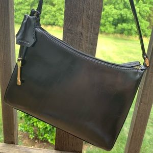 Rare Vintage 1950's Fossil Leather Classic Key Bag